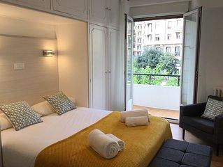 Colon by Forever Rentals. Apartamento 3dormitorios Wifi. Playa Zurriola. Kursaal
