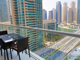 Designer Furnished Apartment in Dubai with beautiful terrace