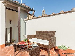 Apartments Florence - Santa Maria Balcony