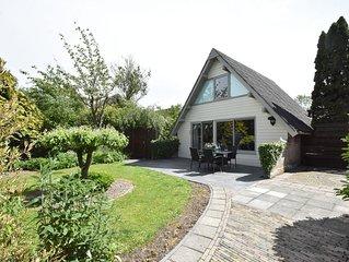 Modern house with large, sunny garden near sea and beach