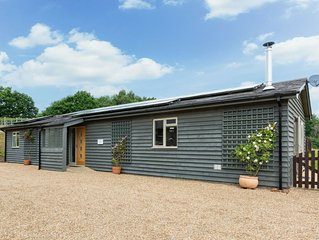 A stunning converted barn in a peaceful rural setting