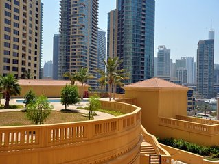 Beautiful Dubai Short Term Apartment by the JBR Walk