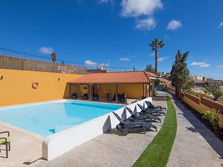 GRAN CANARIA COTTAGE GETAWAY, POOL, BBQ, SEA VIEWS