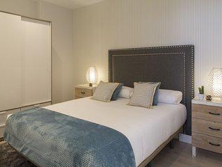 BMA4 by Forever Rentals. Apartamento deluxe 1dormitorio Aire acondicionado. Wifi