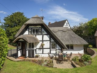 Period thatched cottage dating from the 17th Century  in the idyllic village of