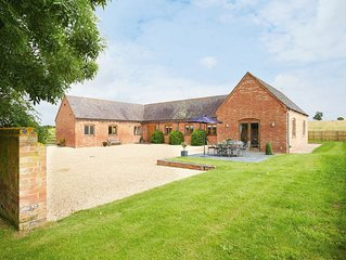 Furlong Barn is a beautiful property in a stunning, secluded position
