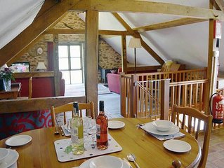 From £13 pppn. A pet-friendly spacious barn conversion in Exmoor National Park