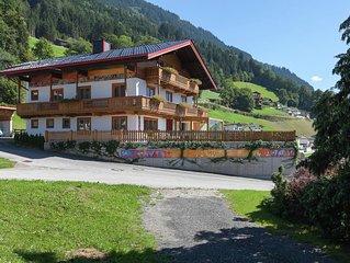 Sunlit Farmhouse near Hochzillertal Ski Area in Tyrol