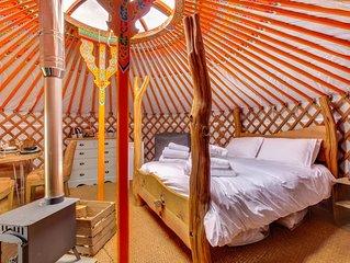 Lapwing Yurt - One Bedroom House, Sleeps 4