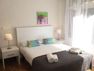 Volantin by Forever Rentals. Apartamento 2 dormitorios con vistas al Paseo. Wifi