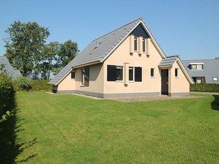 Serene holiday home in Gaasterlan-Sleat Friesland with garden