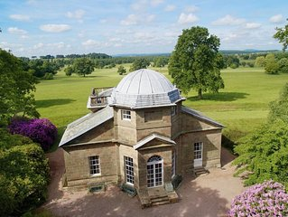 This property is located within 1000 acres of parkland on the Weston Park Estate