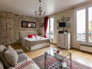 Studio en Isle apartment in 04eme - Hotel-de-Ville - Le Marais with WiFi.