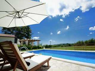 Charming villa with private pool in Central Istria