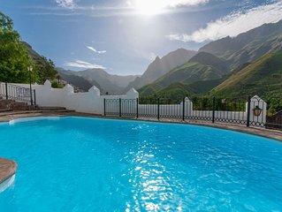 Casa rural con piscina privada en Agaete