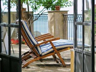 Casa La Sponda, bella proprieta in costiera amalfitana, puo ospitare fino a 4 pe