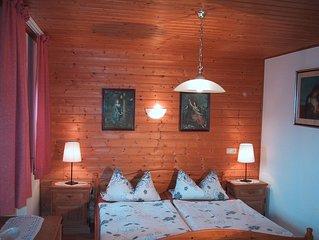 Appartement mit Balkon für 1 - 2 Personen mit herrlichem Talblick