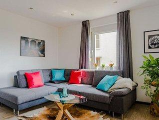 Ferienwohnung, 67qm mit 2 Schlafzimmer und teiluberdachter Terrasse fur max. 5 P