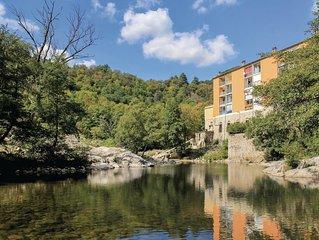 1 Zimmer Unterkunft in Vals les Bains