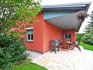 Liebevoll ausgestattetes Ferienhaus mit Garten, Grillmöglichkeiten und WLAN.