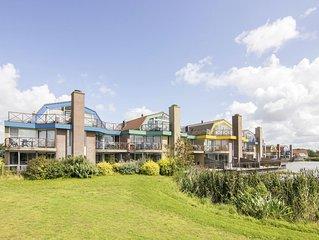 Luxus 2-Personen-Ferienwohnung im Ferienpark Landal Beach Resort Ooghduyne - an