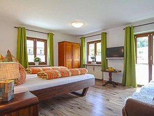 Fewo Jenner, 2-4 Personen, Balkon, zwei separate Schlafzimmer, Balkon