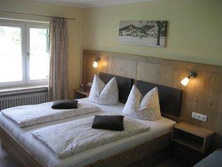 Ferienwohnung Rauschberg (48qm), großer Balkon, Küche extra, 1 Wohn-und 1 Schlaf