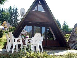 In der Parkmitte gelegenes Ferienhaus (53m2) in Freyung mit Terrasse