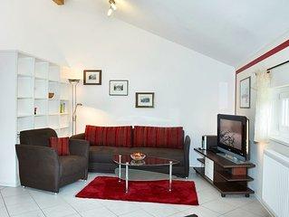 FeWo Simssee, 53 qm Obergeschoss, 1 separates Schlafzimmer
