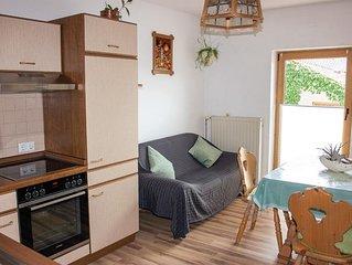 60qm-große Ferienwohnung mit 2 Schlafzimmern und Balkon