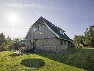 Komfort 10-Personen-Ferienhaus im Ferienpark Landal Orveltermarke - ländlich gel