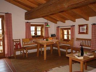 Ferienwohnung 'Spitzstein' 65 qm mit zwei Schlafzimmer und Balkon°