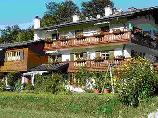 Ferienwohnung 3, 2-4 Personen, 45 qm, mit Balkon und 2 Schlafraumen