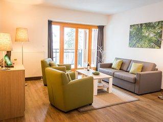 Komfort 4-Personen-Ferienwohnung im Ferienpark Landal Marina Lipno - am Wasser/F