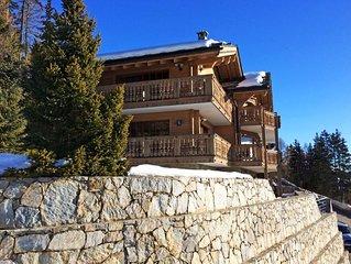 Ferienhaus Chanson in Crans-Montana - 10 Personen, 5 Schlafzimmer