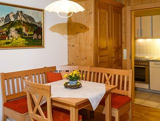 Ferienwohnung (36 qm) -1- uberdachte Terrasse, Kuche extra, 1 Wohn-/Schlafzimmer