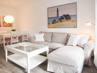 Schönes Reihenhaus mit zwei Schlafzimmern, Sonnenterrasse und Garten in ruhiger,