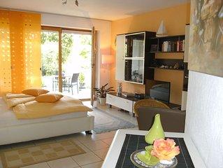 Ferienwohnung, 48qm, 1 Wohn-/Schlafraum, Terrasse, max. 2 Personen