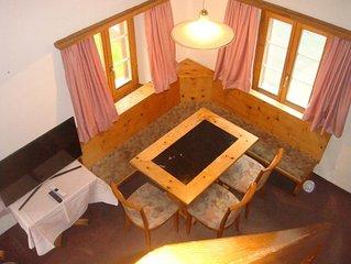 Ferienwohnung Maloja für 4 - 6 Personen mit 3 Schlafzimmern - Ferienwohnung