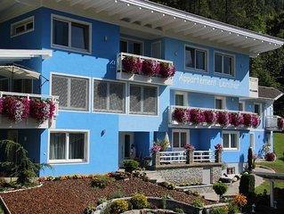 Appartement 4 mit 2 Schlafzimmern und Balkon