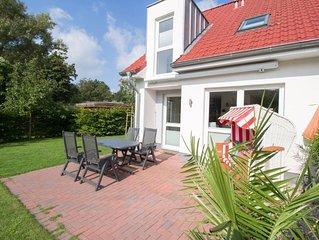 Hafenstern -Endreihenhaus mit tollem Garten, nah an Strand und Hafen-