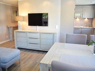 Ferienhaus mit neuen und sehr hochwertigen Appartements in zentraler Lage in Wes