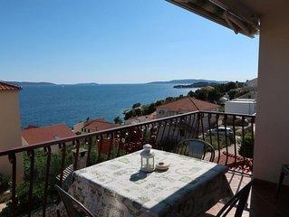 Ferienwohnung Culic (TGR143) in Trogir - 5 Personen, 2 Schlafzimmer