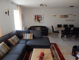Ferienwohnung 'Chiemsee' 113 qm, 3 Schlafzimmer°, EG - DG