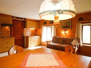 Fewo Thorau-Alm (52qm), Balkon, Kochnische, 2 Schlaf- und 1 Wohn-/Schlafzimmer,
