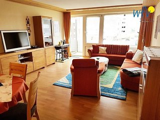 Komfortable Ferienwohnung mit sonnigem Balkon - ideal für Ihren Familienurlaub a