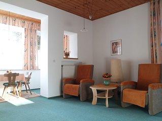 Wohnung THUMSEE: 2-Zimmer-Wohnung für 1-2 Personen, Erker, glasüberdachter Balko