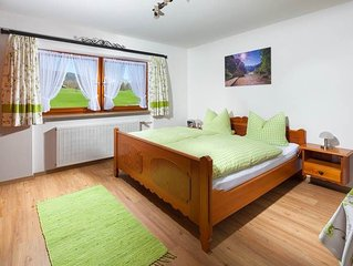 Ferienwohnung Kehlstein, 2 Personen, 1 separates Schlafzimmer, Dusche/WC, Balkon