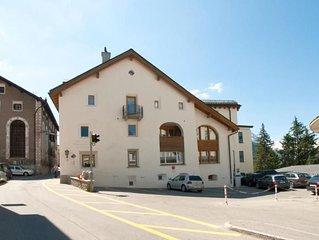 Ferienwohnung Pontresina fur 4 - 5 Personen mit 2 Schlafzimmern - Ferienwohnung