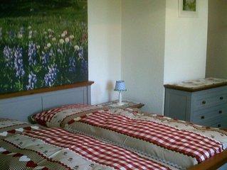 Ferienwohnung -Westernberg- (38qm), Balkon, Kochnische, 1 Schlaf- und 1 Wohn-/Sc